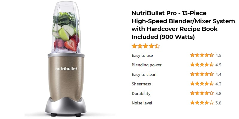 Best Nutribullet Blender in 2021 - Which is The Right Choice? 4
