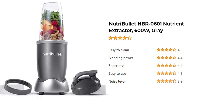 Best Nutribullet Blender in 2021 - Which is The Right Choice? 5