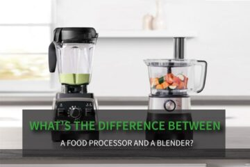 What's The Difference Between A Food Processor And A Blender?