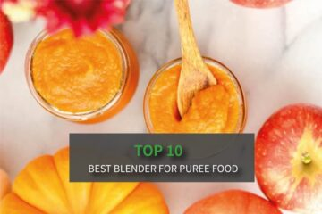 Top 10 Best Blender for Puree Food - Good for making baby food!